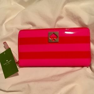Kate Spade zip-around wallet